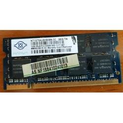 MEMORIA SODIMM - NANYA 1GB...