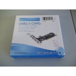 SCHEDA PCI 4+1 PORTE USB...