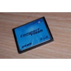 A DATA COMPACT FLASH 64 MB...