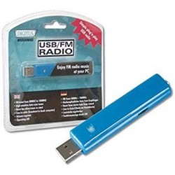 Digitus USB FM – Radio, 88...